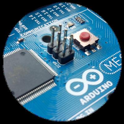 blue technological chip