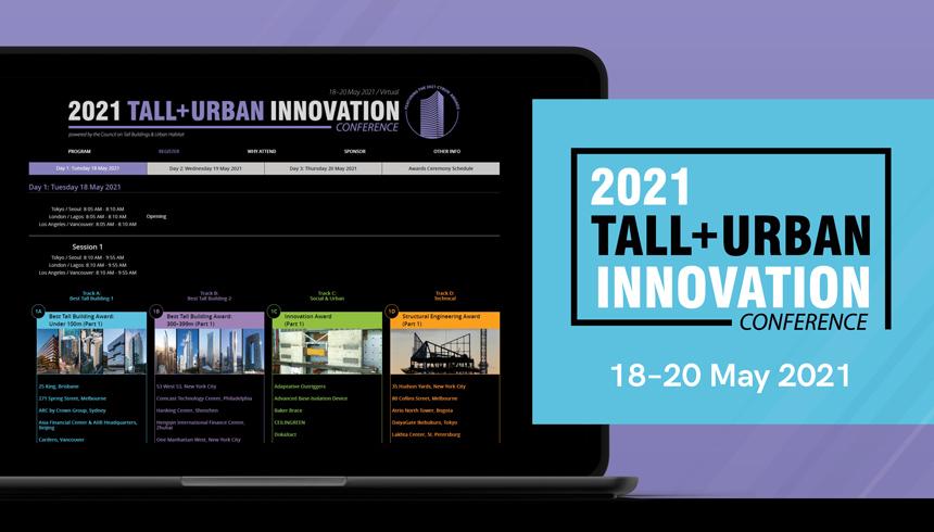 2021 Tall + Urban Innovation Conference