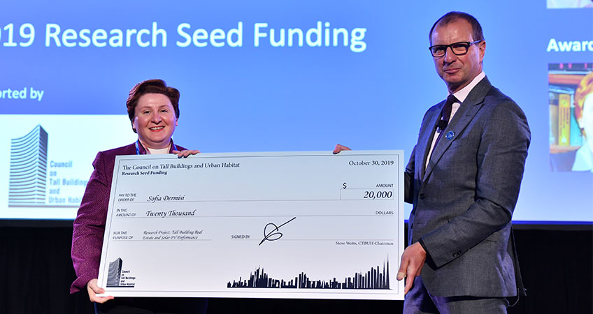 2019 International Research Seed Funding winner Sofia Dermisi.