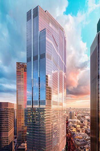 © Riverfilm Martin Richardson. An image of London's 22 Bishopsgate, which has officially topped out.