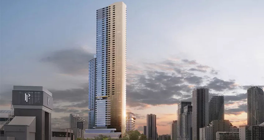 The second mixed-use tower of the Broadbeach Island master plan.