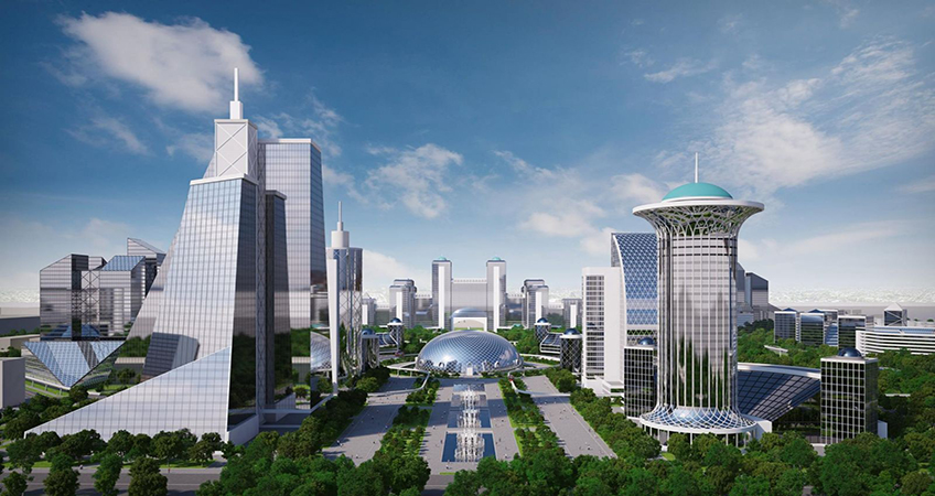 Tashkent City is expected to cost US$150 million. Photo Source: Business Center.