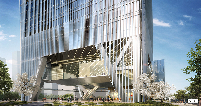 The new UBTECH Headquarters will stand at 212-meters tall.