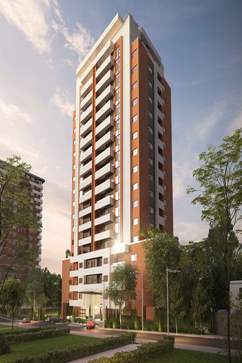 A rendering of the future Vistana tower.