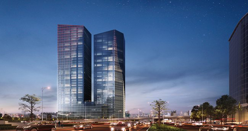 Capital Place will provide approximately 121,000 square meters of floor area.