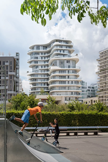 UNIC has been developed in collaboration with local residents, architects, and developers.