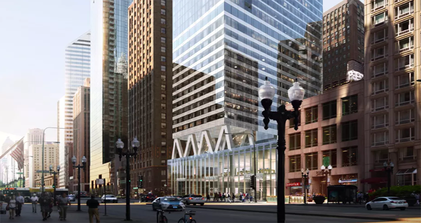 The 300 North Michigan Avenue property has sat vacant since its final tenant moved out more than three years ago.