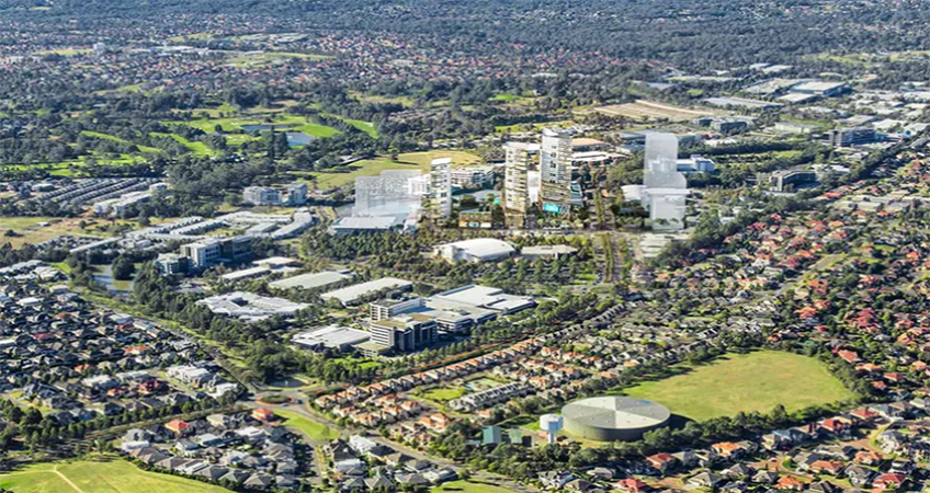 The Norwest City scheme is hoping to bring smart city design concepts to realization.