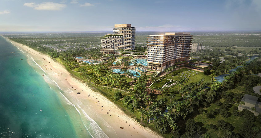Phase 1 of Hoiana project is currently under development on the south coast of Hoi An.