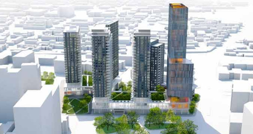 According to the Mayor, the inclusion of social housing was the reason why the city allowed a sixth tower on the site; since that condition hasn't been respected, the deal's off.