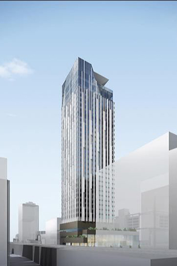 The hotel will arrive in the city's Namba district, a popular tourist destination, by mid-2023.
