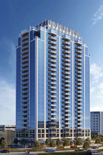 SkyHouse Frisco Station is the latest SkyHouse development to open in the United States.