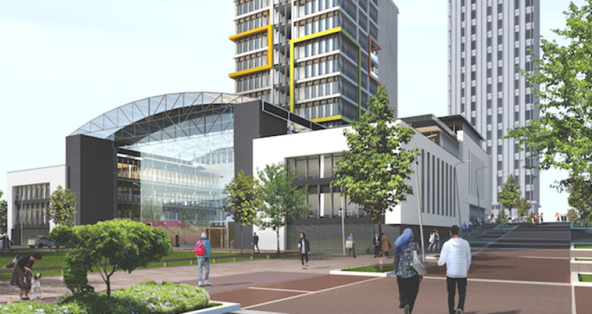 The plans include building three office and residential towers as part of an initial phase of the project that will transform the Teesside Valley skyline.
