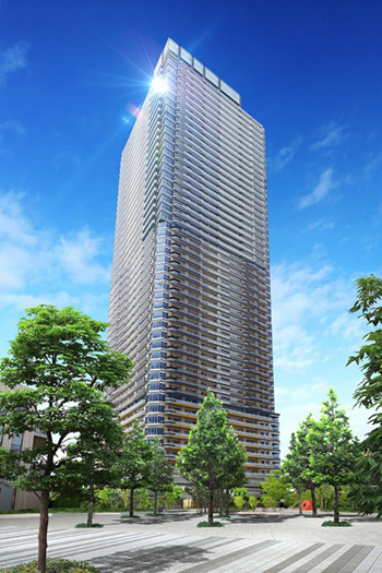 New Apartment Towers Under Construction in Chiba