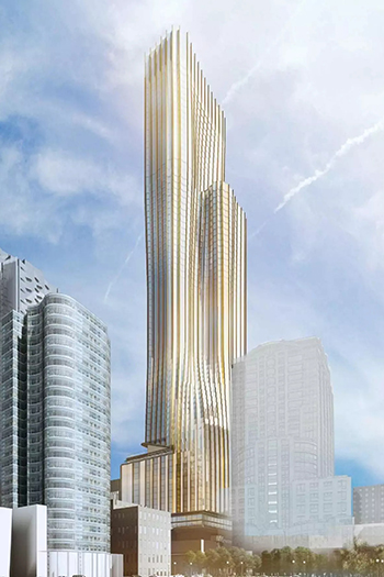 The 79-story tower would be a mixed-use building with a total of 1,430 new condos.
