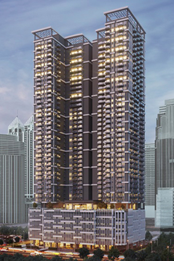 The dual-tower high-rise development will offer prime units with Japanese-inspired design and aesthetics.