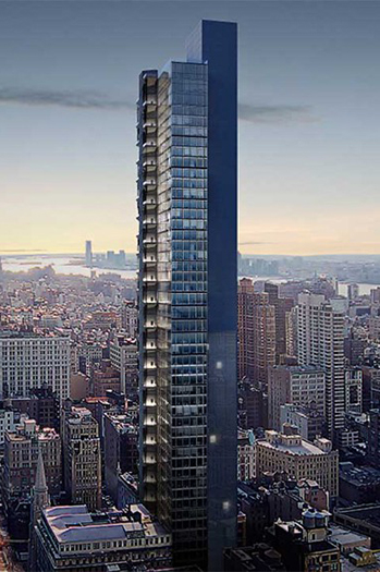 Excavation Begins for New Residential Skyscraper in New York City
