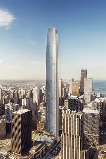 Planned Chicago Supertall Undergoes Minimal Changes After Community Review