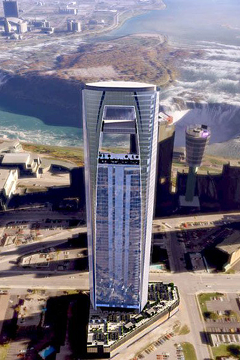 Long-Stalled Skyscraper in Niagara Falls Receives New Approval