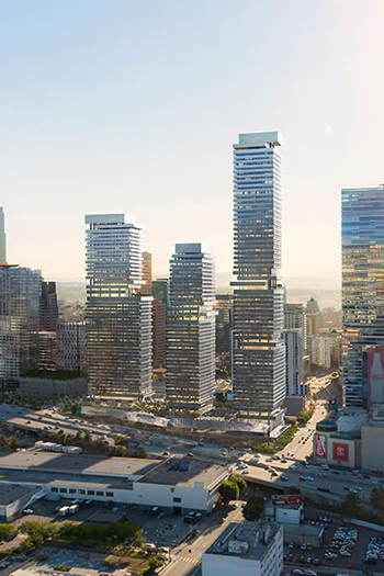 The US$1 billion project, which will have 950 apartments and condos, a hotel, across 190,000 square feet (18,000 square meters) of space.