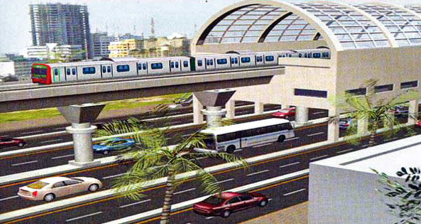 The Chennai Metro Rail Limited (CMRL) is planning to build a 20-story structure above the elevated depot station at Wimco Nagar with a four-level parking space below the stabling lines.