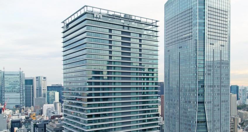 Construction Completed on Tokyo High-Rise