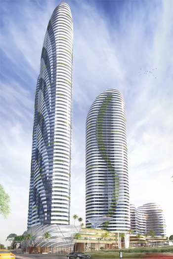 Four towers (with heights ranging from 18 stories to 71 stories) will be built in Southport after gaining approval from the Gold Coast City Council.