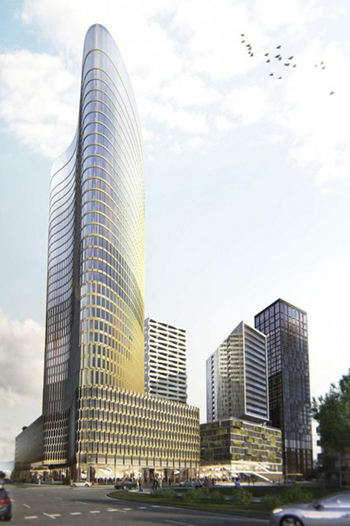 Mixed-Use Complex in Zagreb Moves Forward