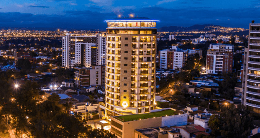 New Hotel in Guatemala City Opens with Revolving Restaurant