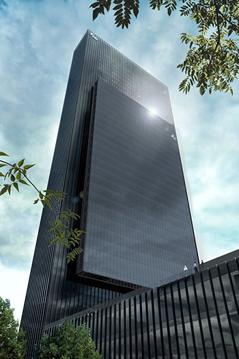 Fifth Tower in Madrid's New Business District to Host Cinema