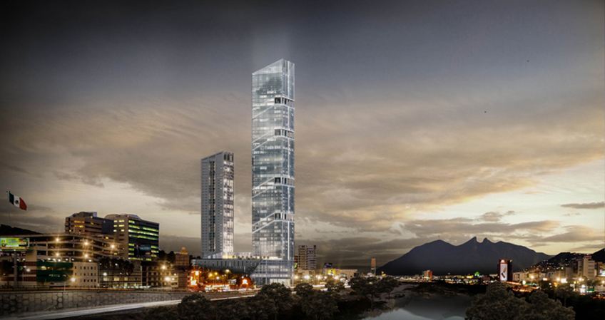 New Hotel Opens in Mexico's Tallest Building