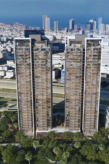 Developer Chosen for Twin-Tower Project in Tel Aviv