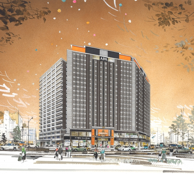 1,001-Room Hotel Planned for Niigata