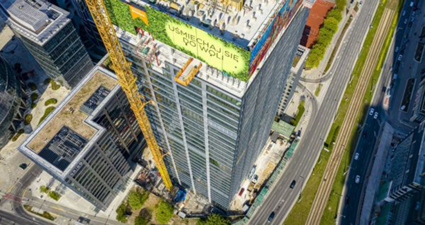 The office tower will complete the three-tower complex, delivering a total of 88,000 square meters of gross leasable area.