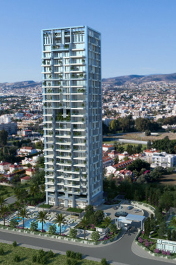 The luxury project is currently under construction in Limassol with an estimated completion date by the end of 2020.