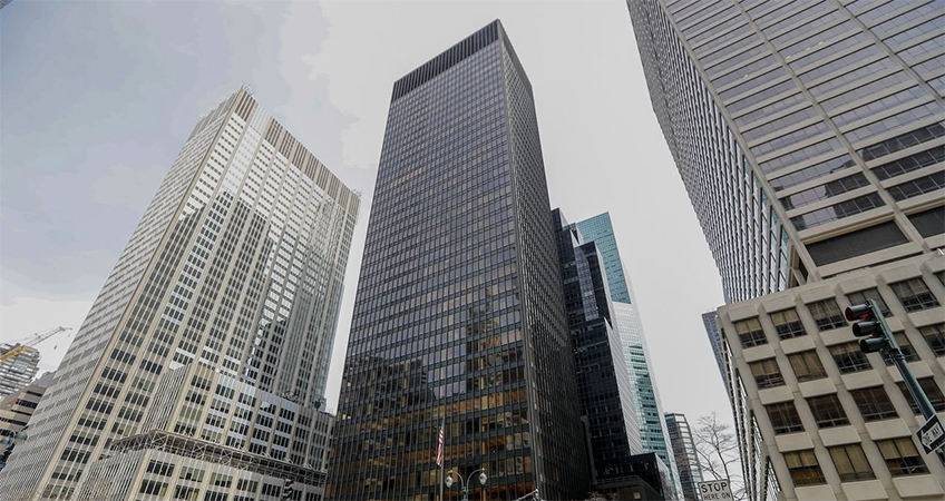 RFR's plan to freshen up the Seagram Building is a reminder of how much the office market has been undergoing change. Image Credit: Peter J. Smith for The Wall Street Journal.