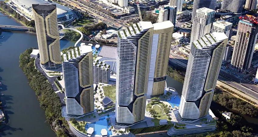 Although plans for an exclusive license to operate a global tourism hub in Gold Coast have failed to materialize, the Star Entertainment Group says it can continue to invest in its five-tower Broadbeach scheme.