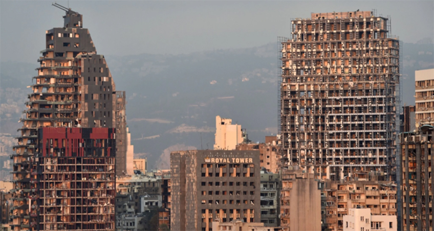 Damage From the Beirut Explosion Includes Several Tall Buildings