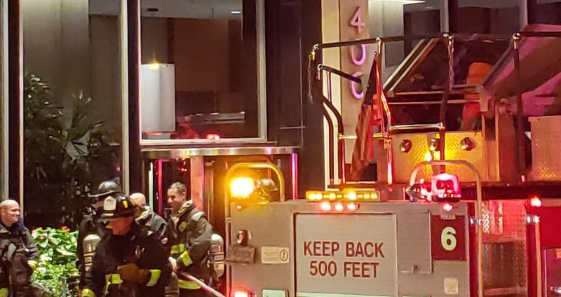 Chicago High-Rise Fire Injures Several