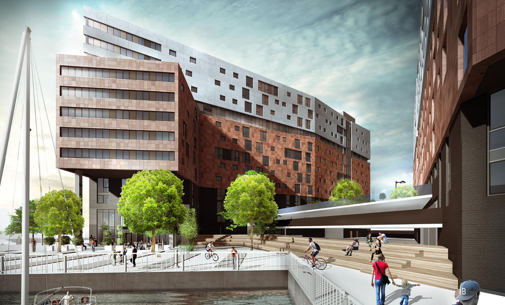 Marina Flats Complex Approved in Liverpool