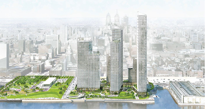 Redevelopment Plan Approved for Waterfront Philadelphia Site