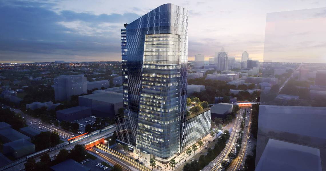 Raleigh Approves Rezoning for Downtown Tower