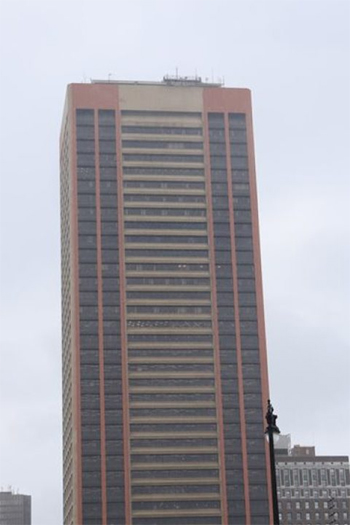 The current tallest building in Buffalo, NY is a residential retrofit that has just opened its doors.