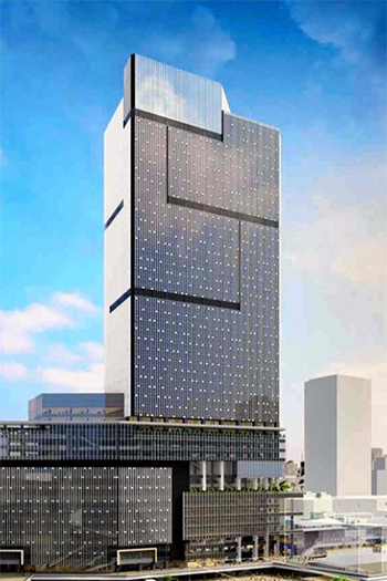 Skyscraper Planned for West Gate of Shinjuku Station in Tokyo