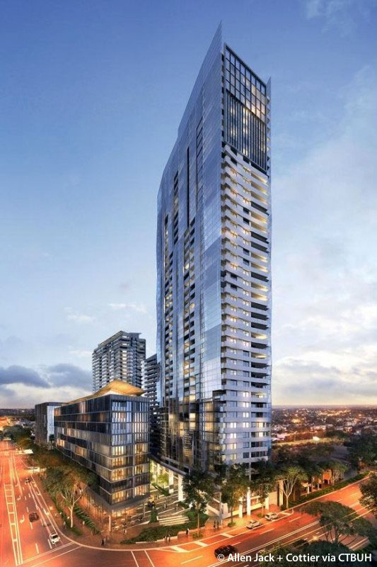 The South Quarter Complex is one of the developments spearheaded by Ellerson Property in Parramatta.