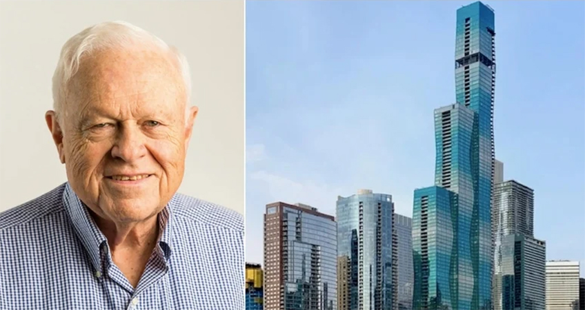 Throughout his accomplished career, James Loewenberg developed iconic Chicago high-rises Vista and Aqua Towers.