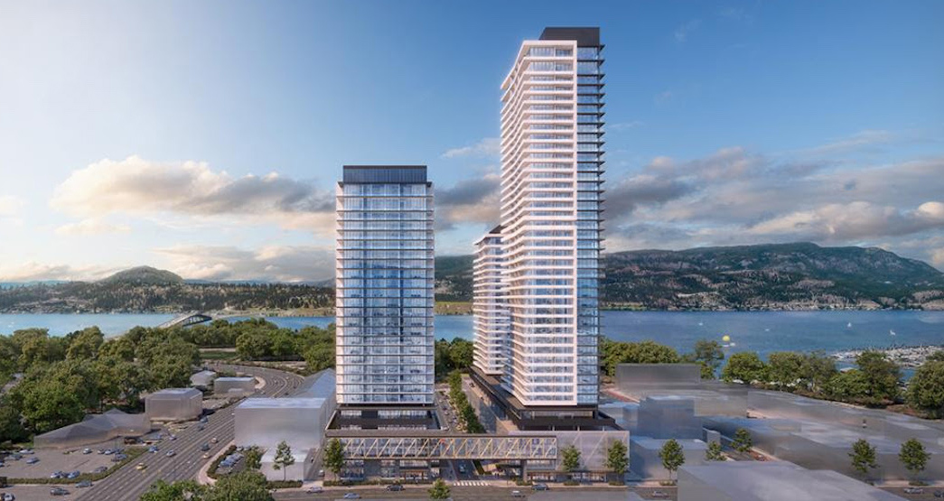 The complex's approval comes as part of Kelowna encouraging more downtown high-density development.