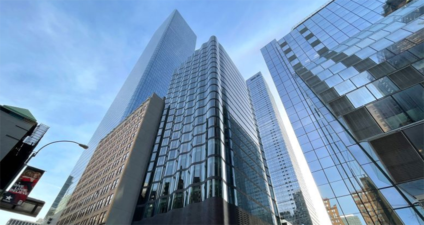 Part of the larger Manhattan West master plan, the 85.6-meter-tall hotel's construction has reached completion.