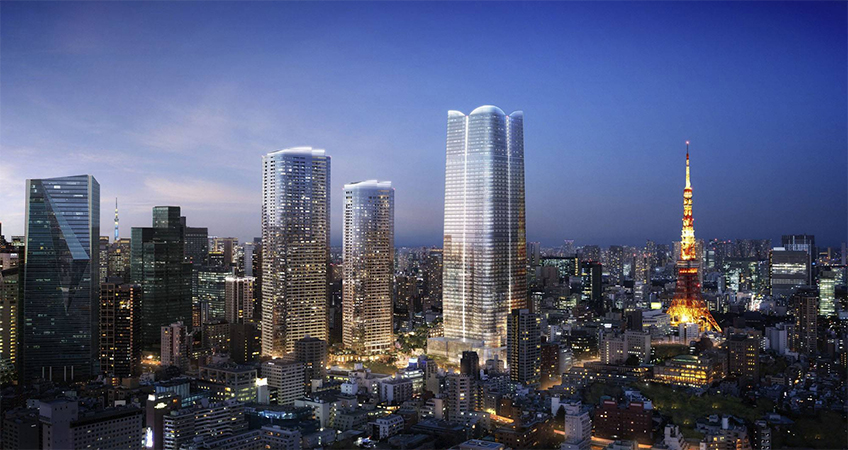 An international school will also be built nearby the massive Toranomon-Azabudai redevelopment.