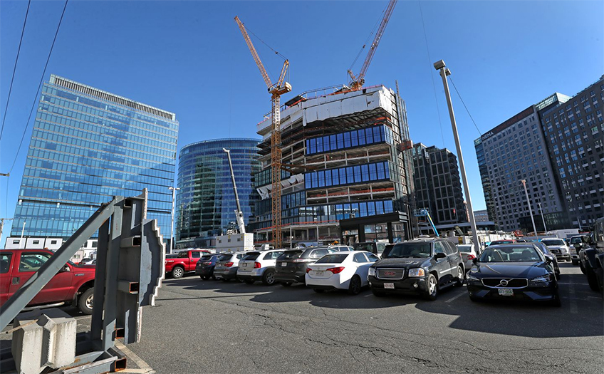 The mixed-use development is slated for Boston's Fort Point neighborhood.